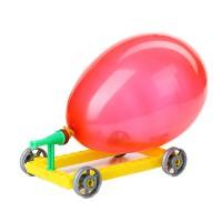 氣球小塑膠車